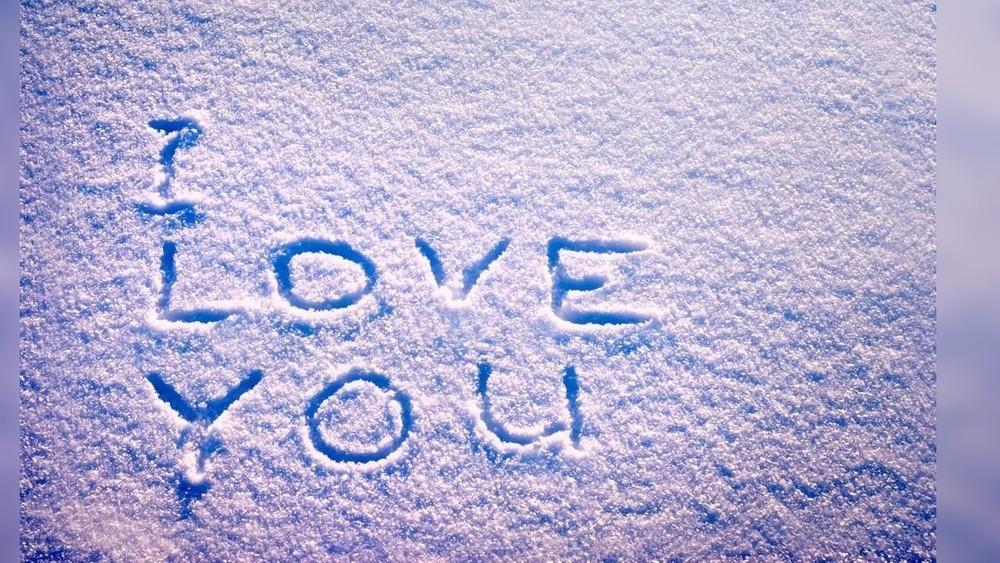 поздравление написанные на снегу проектов