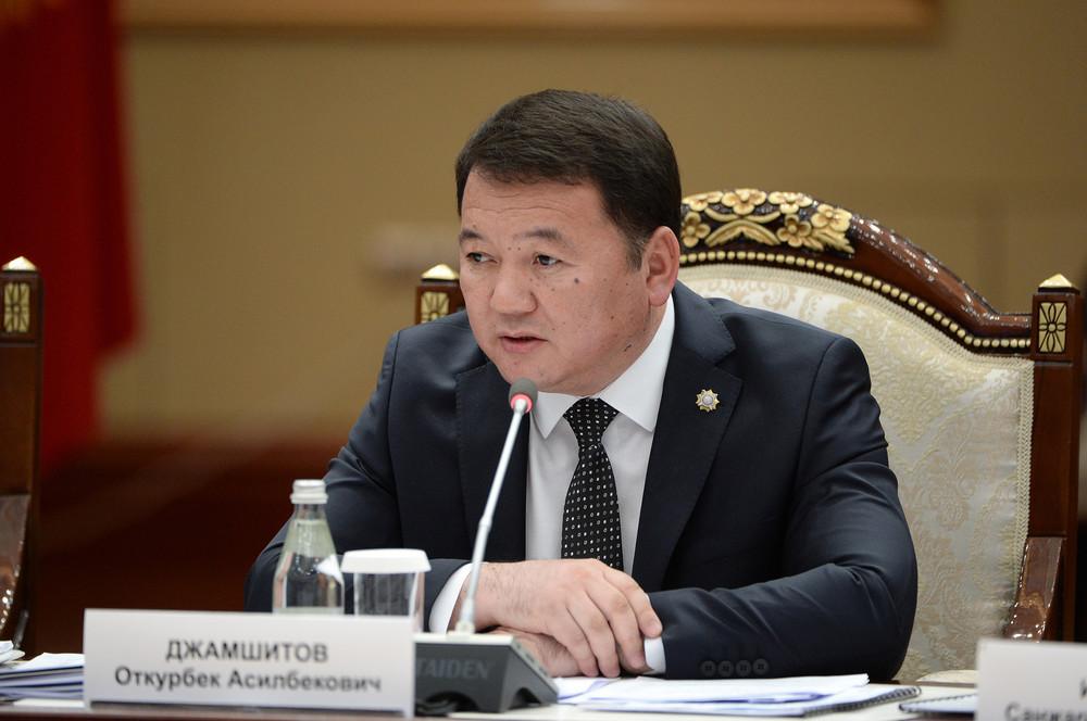 Откурбек Джамшитов на заседании Совета по судебной реформе