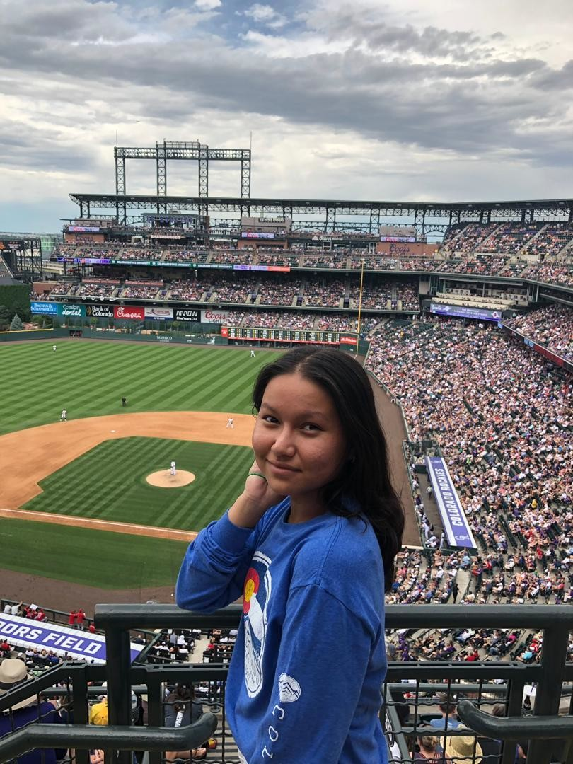 Colorado Rockies baseball game