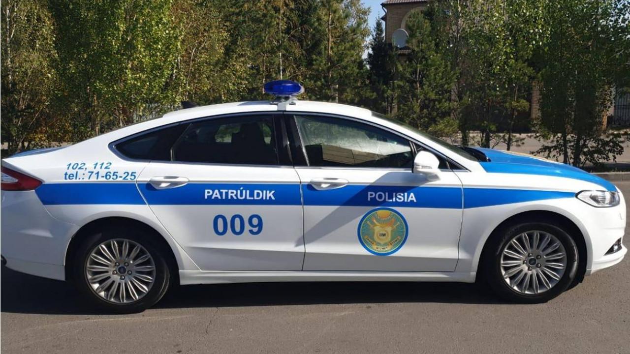 Патрульная милиция Казахстана