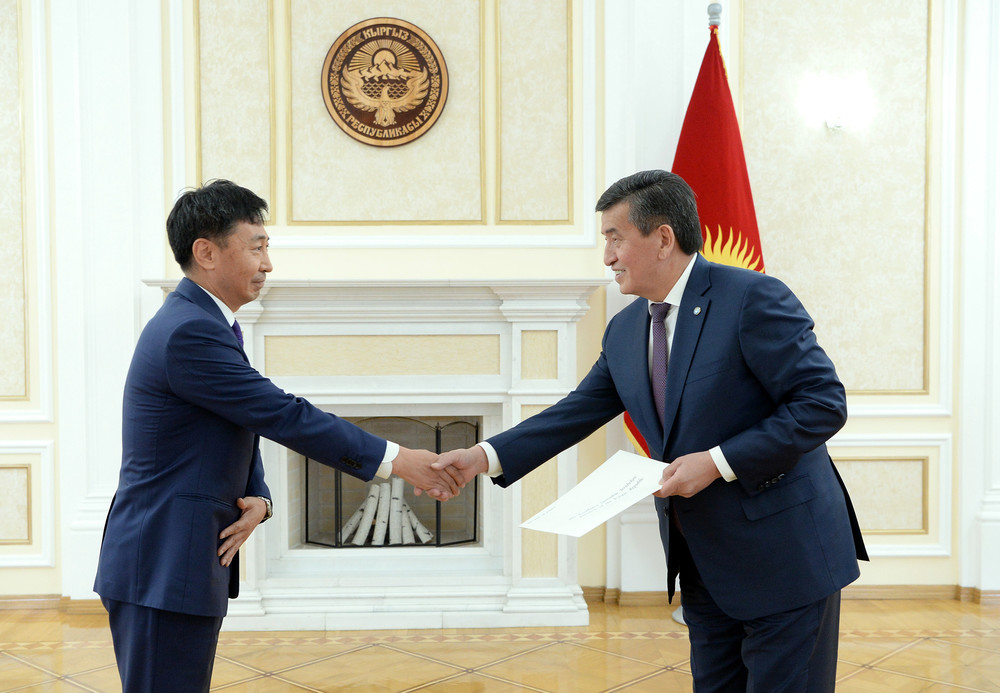 встреча посла с президентом