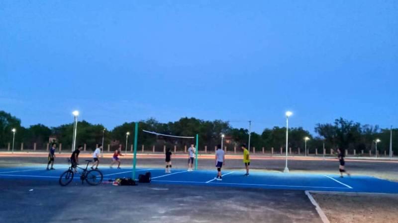 Площадки нового «Парка Здоровья» уже принимают спортсменов. Фото
