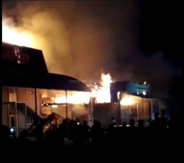 МЧС: Пожар в пригороде Оша локализован