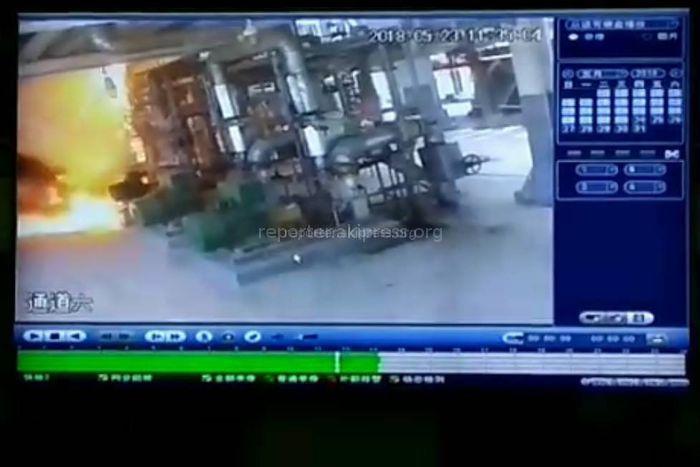 Руководство компании НПЗ «Джунда» прокомментировало видео с возгоранием на заводе