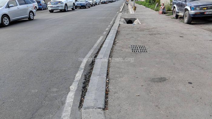 Мэрия: Улица Орозбекова еще не сдана, устряняются дефекты