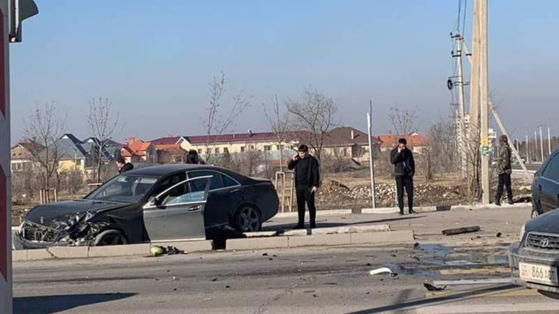 Водитель одного из «Мерседесов», столкнувшихся на Южной магистрали, был несовершеннолетним
