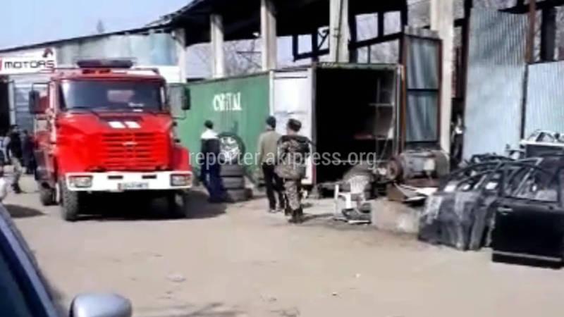 МЧС: Пожар на П.Лумумбы полностью потушен