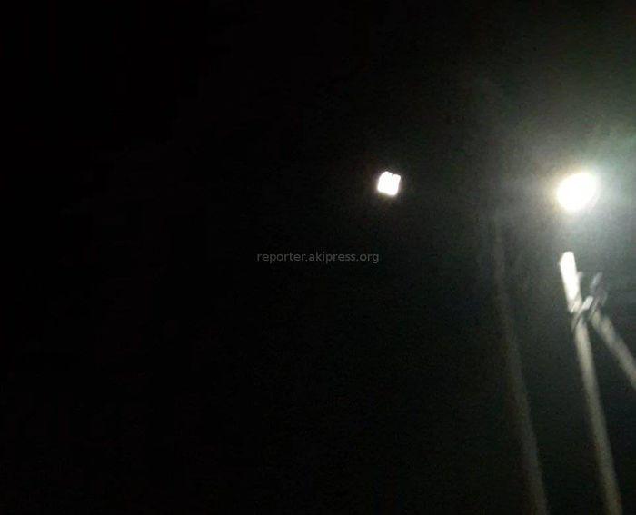 Уже начали мигать фонари, которые недавно установили на ул.Профсоюзной, - бишкекчанин (видео)