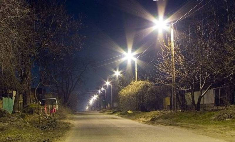 На ул. Куренкеева больше недели нет уличного освещения