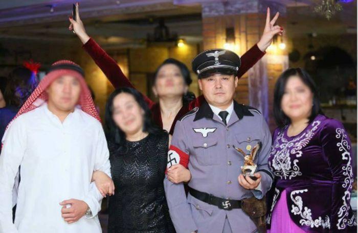 В КТРК пояснили о «фашистской форме» телеведущего на корпоративе <i>(фото)</i>