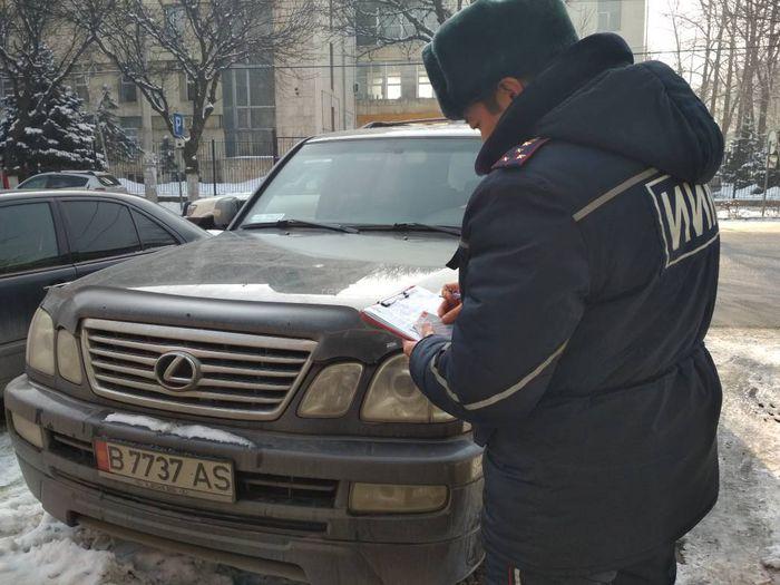 ГУОБДД МВД: В отношении 7 водителей, нарушивших ПДД, составлены протоколы