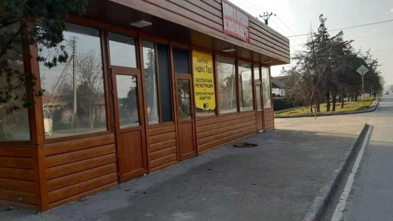 Законно ли установлен павильон на Салиевой-Курманалиева?