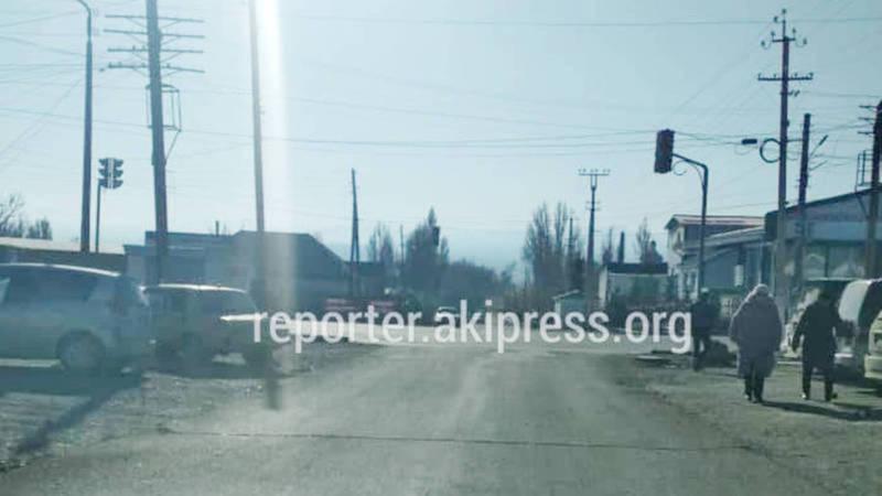 Светофор на Абдрахманова-Токтосунова в Балыкчы начнет работать после ремонта