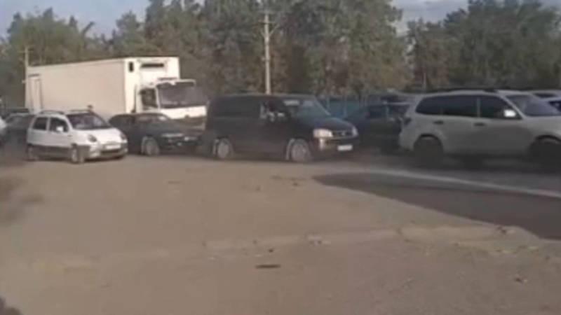 В Сокулуке ежедневно создаются пробки. Видео