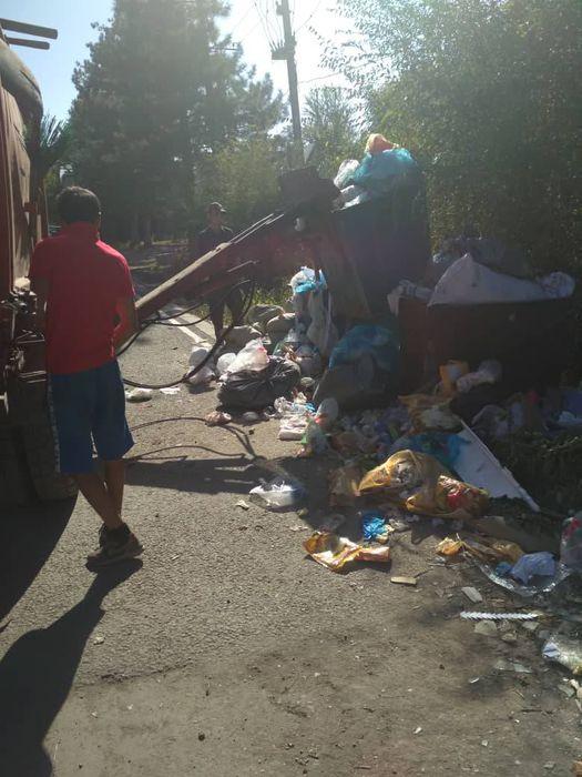 Мусор на участке улицы Усенбаева убрали (фото)