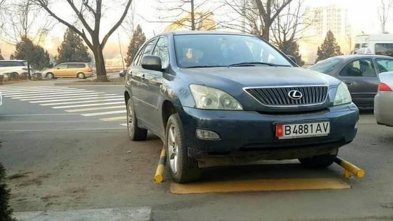 «Доска позора»: Паркуюсь как хочу!