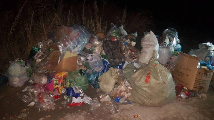 Арча-Бешикте мусор убагында алынбайт, - окурман (фото)