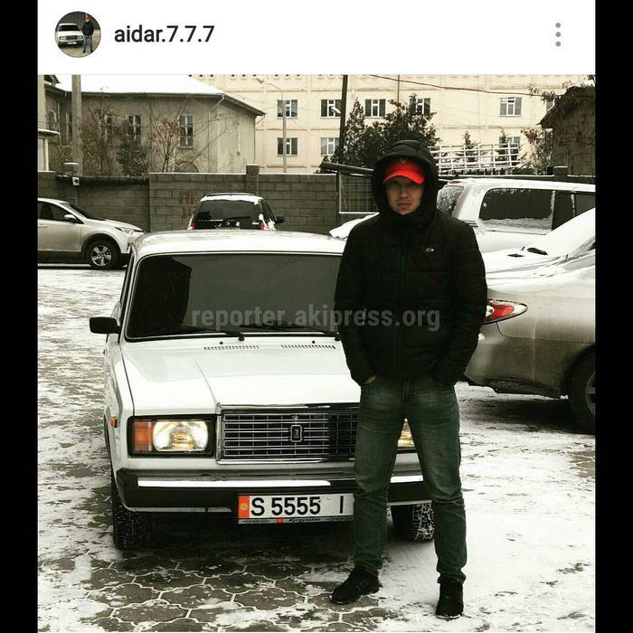 Бишкекчанин публикует фото затонированных авто в соцсетях