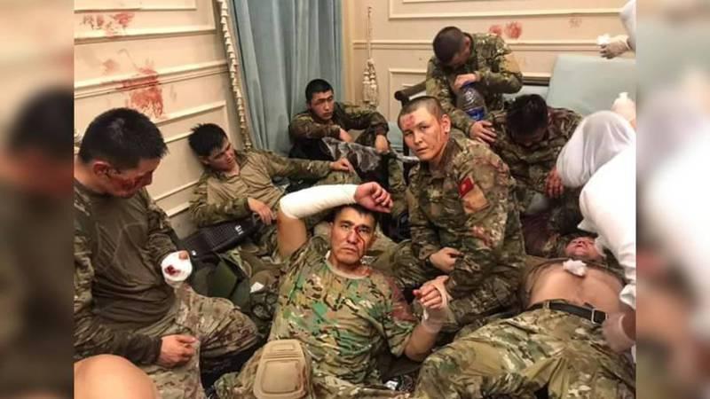 Захваченных в Кой-Таше спецназовцев сняли на фото и видео