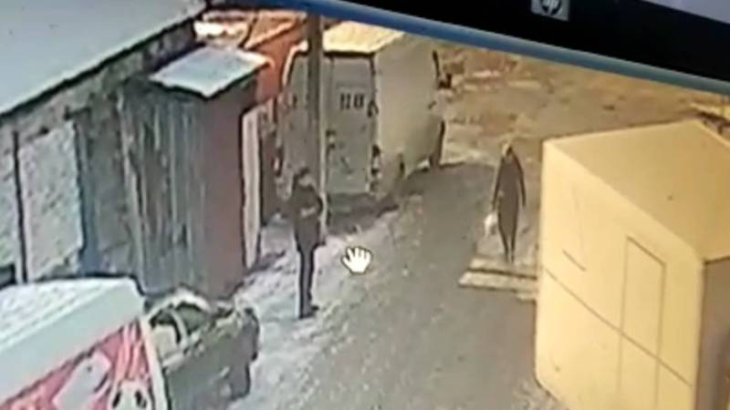 На рынке «Баят» мужчина украл из машины сумку с документами. Видео