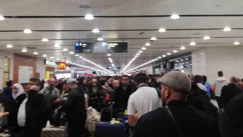 Как обстояли дела в Международном аэропорту Стамбула после жесткой посадки Boeing 737-800? Видео, фото