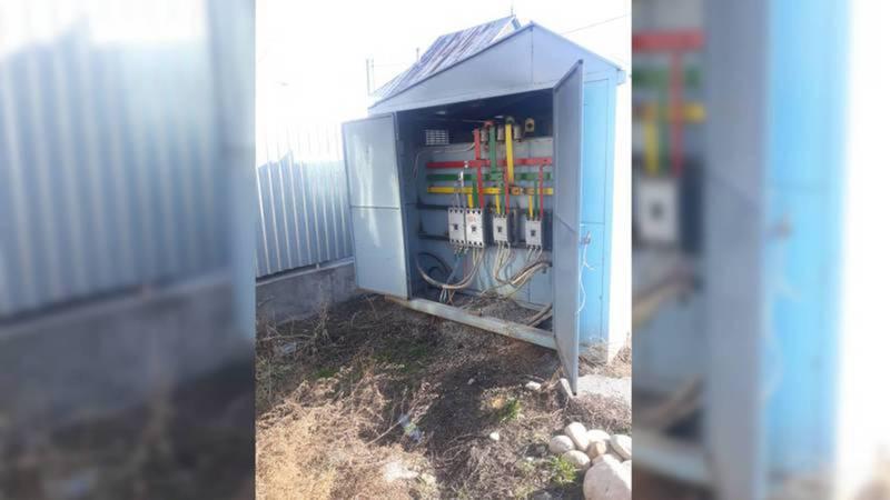 Трансформаторная будка на ул.Тулебердиева закрыта на замок, - Северэлектро