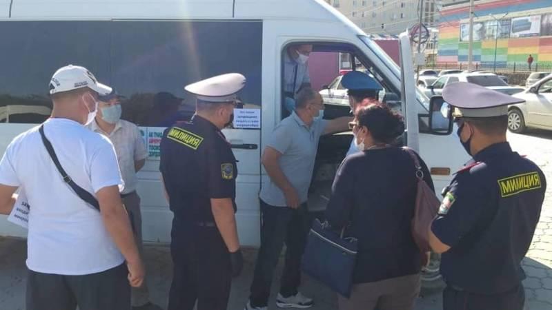 За несоблюдение санитарно-гигиенических норм водители маршруток будут оштрафованы, - УПСМ