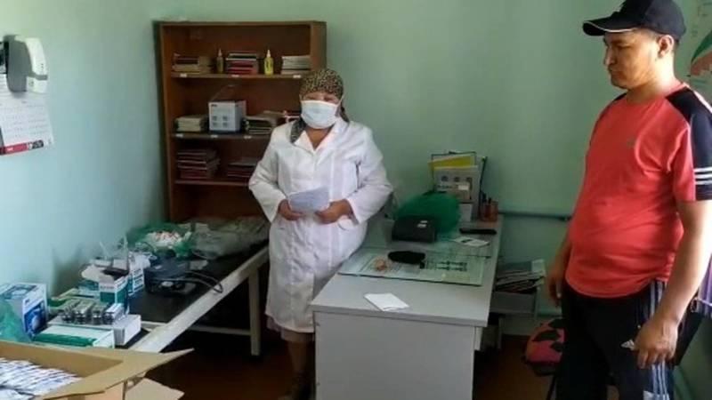 Жители села Киров купили медикаменты местному ФАПу на 30 тыс. сомов. Видео