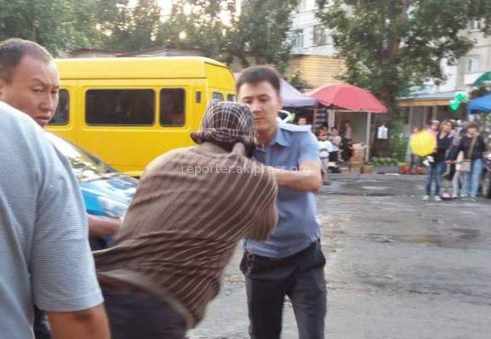 ГУВД Бишкека ведет служебное расследование из-за стычки милиционеров с иностранцами