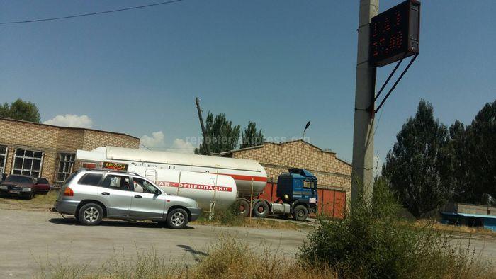 Законно ли функционирует газозаправляющая станция в Токмоке?