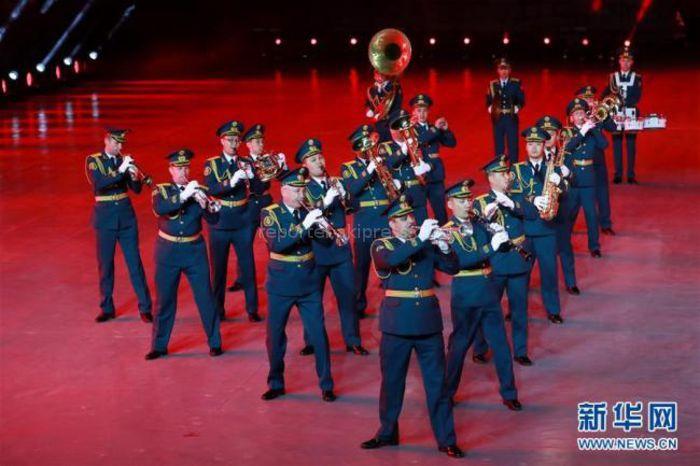 Блестящее выступление военного оркестра Кыргызстана в Пекине <i>(видео)</i>