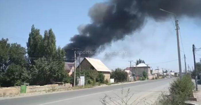 В Новопавловке горит дом <i>(видео)</i>