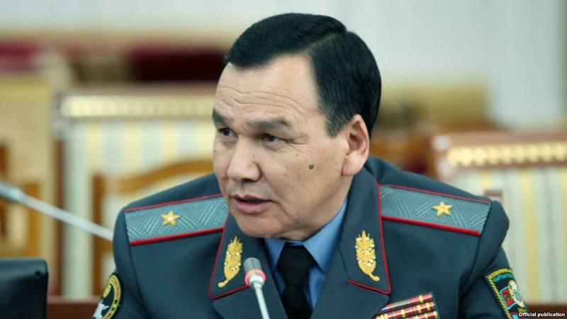 Нарушения наших сотрудников, которые публикует «Репортер», я беру под свой контроль, - глава МВД К.Джунушалиев