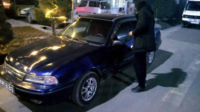 В Оше на Масалиева водитель «Daewoo Nexia» припарковался на «зебре», - житель (видео)
