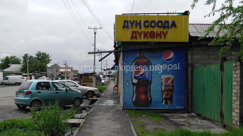 Законно ли магазин вышел за пределы участка в с. Нижняя Ала-Арча ул.Киргизская?