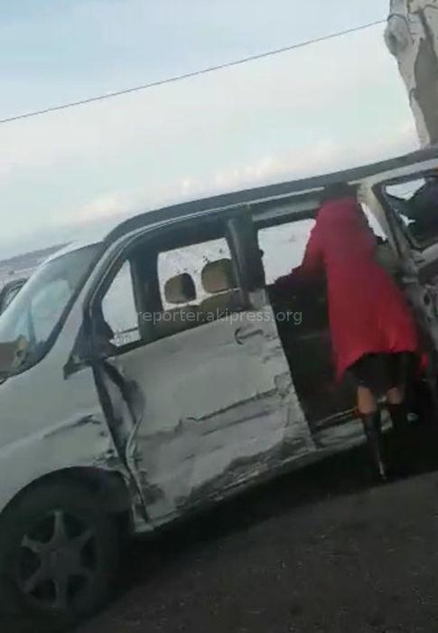 На трассе Тамга—Каракол произошло ДТП <i>(видео)</i>