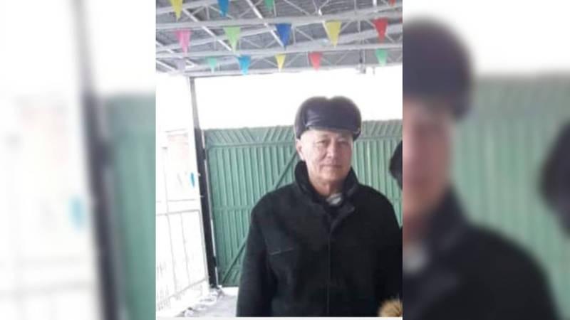 Нашелся недавно пропавший Жолдошбек Шалпыков