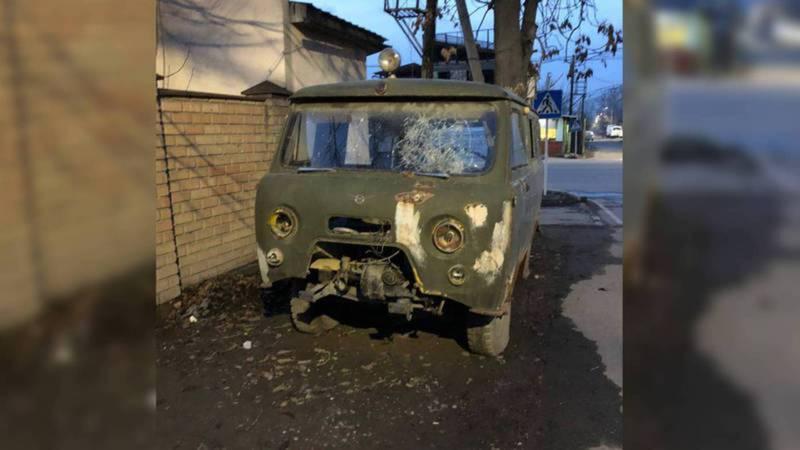 Брошенная машина на Тыныстанова-Баялинова будет эвакуирована сегодня, - мэрия