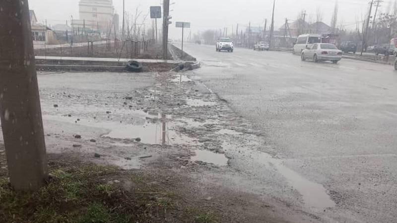 В отношении компании, которая проводила работы по ул.Куйручука и не восстановила дорогу, составлен протокол