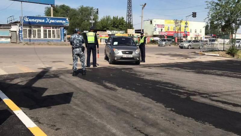 В Бишкеке перекрыли улицу Васильева, - очевидец. Фото
