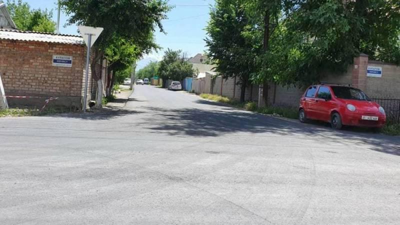 Ул.Ашхабадская была закрыта бетонными плитами во время дорожных работ, - мэрия. Фото