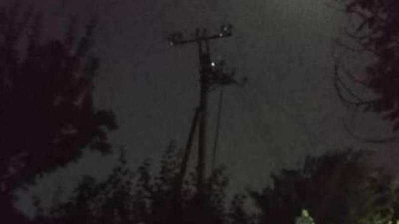 В городке Красный строитель восстановлено электроснабжение