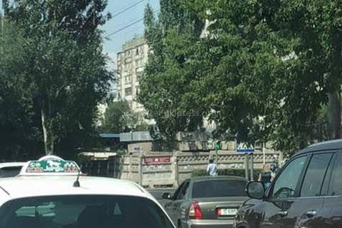 На перекрестке Московская-Ибраимова ветки закрыли светофор <i>(фото)</i>