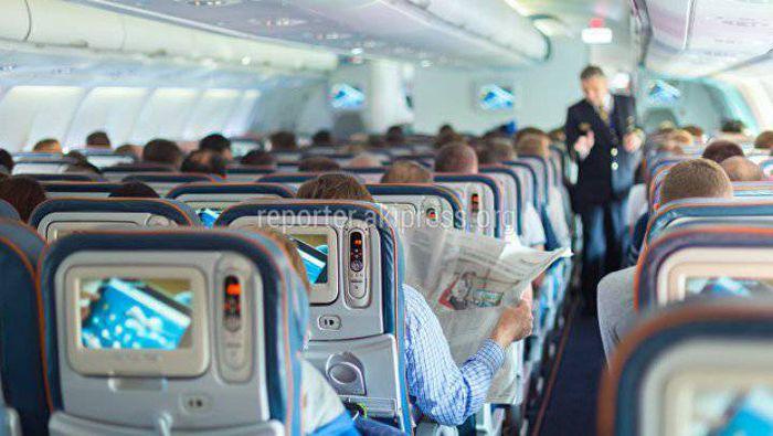 Пассажиров сняли с рейса Сеул—Алматы из-за пьяной кыргызской чиновницы, - депутат