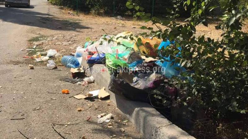 На улице Ташкумырской складируют мусор <i>(фото)</i>