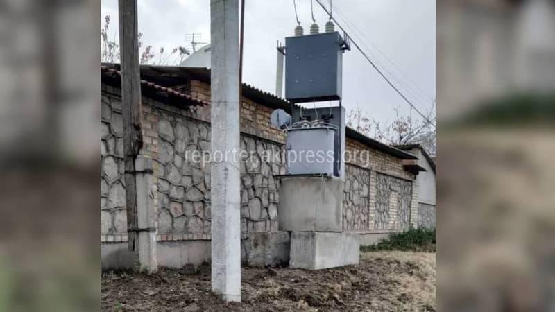Законно ли установили персональный трансформатор на улице Алиева в Оше?