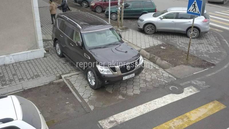 «Доска позора» Популярные нарушения ПДД водителями Бишкека