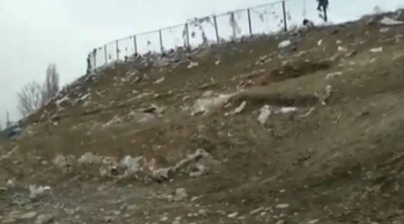 В Кемине повсюду разбросаны мусор и пакеты, - очевидец