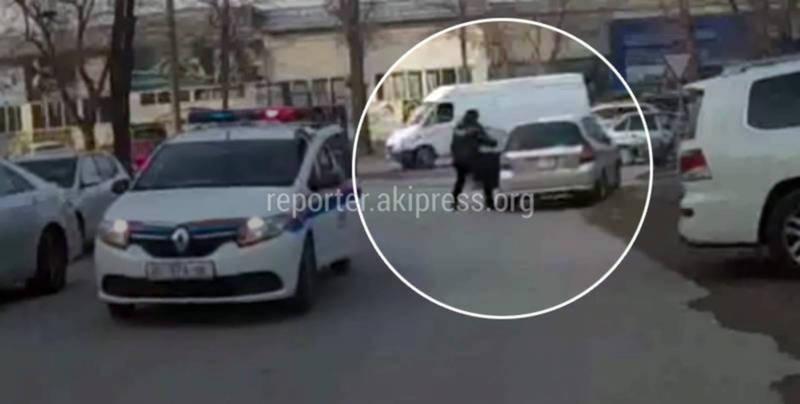 Водителя «Хонды Фит», убежавшего от преследования УОБДД, поймали и оштрафовали на 9,5 тыс. сомов