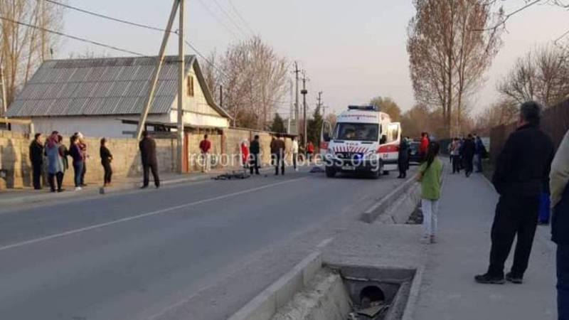 В жилмассиве Бакай-Ата насмерть сбили школьника. Фото